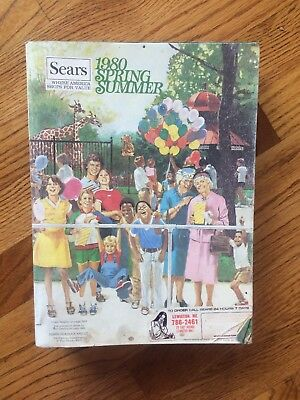 Sears Vtg 1980 Spring Summer Catalog Eastern Edition 260K Collectible Roebuck
