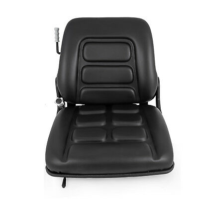 Universal Vinyl Forklift Suspension Seat Fit Clark Hyster Toyota Fast Seat Use