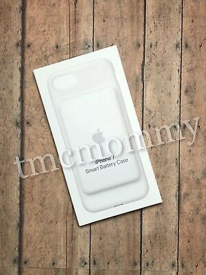 BRAND NEW Sealed Apple iPhone 7 Smart Battery Case White Model A1765 Also fits 8