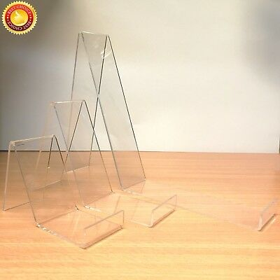 BOOK PLATE PHONE Tablet Acrylic Display Stand Perspex Retail Gorgeous Book Display Stand Uk