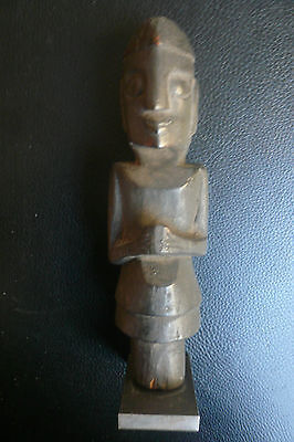 Batak -Figur  Stab-Aufsatz   tribal art   Indonesian craft  Sumatra