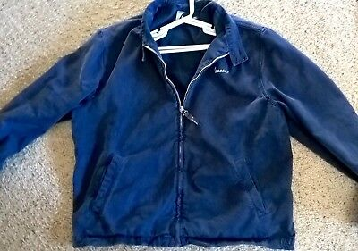 Rare Vintage Official Vespa Jacket, Made In Italy W/logo, Harrington Mod Skins