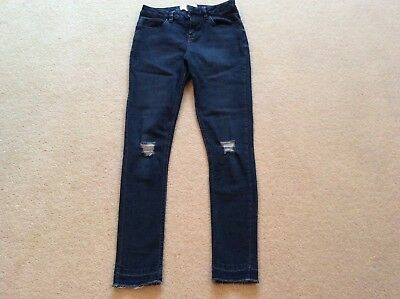 New Look Girls Skinny Dark Blue Jeans Aged 13 Excellent Condition