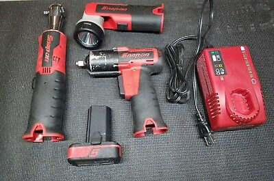 Snap On CT761 14.4v 3/8 Cordless Impact with 1/4 CTR714