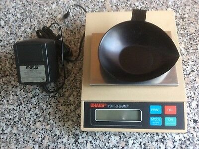OHAUS PORTABLE Jewellers Scales