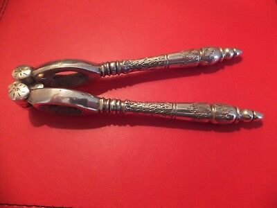 Antique Victorian Silver Plated Nutcrackers