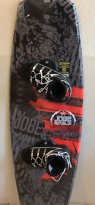 Neues TOP Jobe Wakeboard Republik 135 SET mit Molded Fins und TOP Bindung 2017