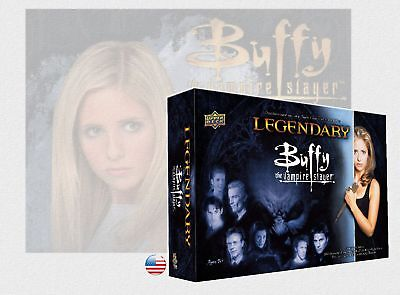 Legendary : Buffy the Vampire Slayer - Deck Building Game Upper Deck Engl. NEU !