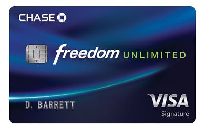 $175 Chase Freedom Unlimited Credit Card Referral Sign Up Bonus