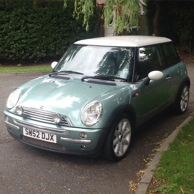 Mini Cooper 52 for parts/repair, starter but gears box gone,