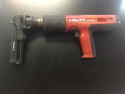 Hilti DX 351 Powder Actuated Tool with X-MX32 Mag