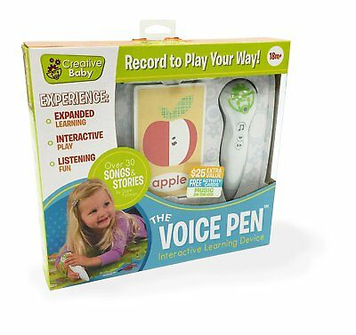 NEW - Creative Baby - i-Mat Voice Pen with Activity Cards - FREE SHIPPING