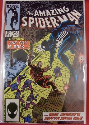 Amazing Spider-Man 265 Marvel Direct Comic 1St Appearance Silver Sable 1985 Nm