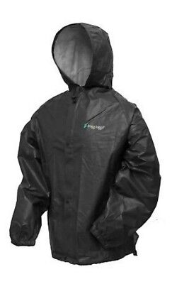 Frogg Toggs Polly Woggs Kid's Regular Rain Jacket PW6032-01MD Black