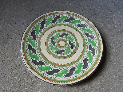 Charlotte Rhead Crown Ducal charger