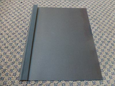 "50 Pro Bind Black Thermal Binding Covers, 3/8"" 10mm (65-95 pgs)"