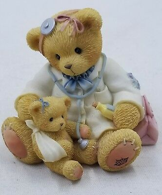 Cherished Teddies Dr. Darlene Makebetter #CT104 - 1998 Charter Membership Bear