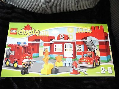 LEGO 10593 Duplo Town Fire Station Brand New Sealed Box (Retired ...