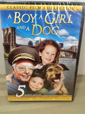 A Boy, A Girl And A Dog Classic Collection(DVD,2016) 5 Bonus Movies New & Sealed