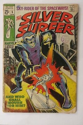 The Silver Surfer #5 - Stranger App. - Marvel Comics