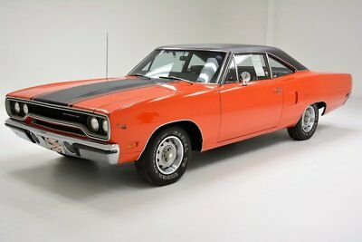 1970 Plymouth Road Runner  Over 90% Original 383ci V8 4-Speed Transmission 2 Owner