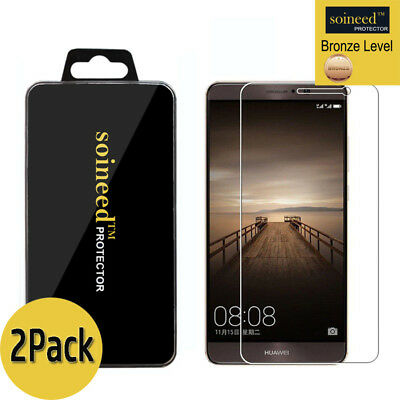 [2-Pack] SOINEED Huawei Mate 9 Tempered Glass Screen Protector Saver