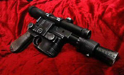 STAR WARS ANH Han Solo DL44 Heavy Blaster Movie Prop Replica  Free US Shipping
