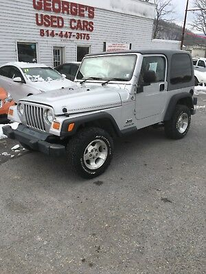 2005 Jeep Wrangler Sport 2095 Jeep Wrangler right hand drive mail jeep