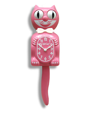 Strawberry Ice Pink Kit-Cat Clock Kat Klock New For 2015 Limited Edition