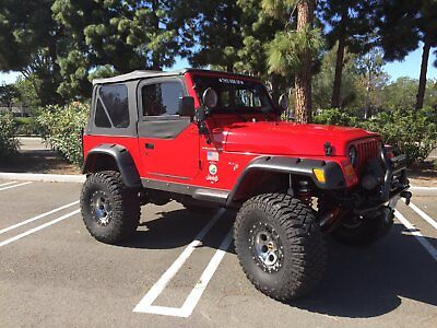 2002 Jeep Wrangler TJ Beautiful Jeep Wrangler that's ready to cruise or crawl