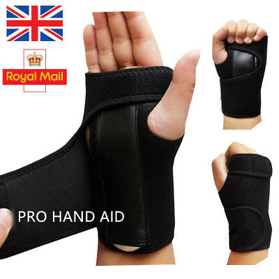 Wrist Hand Brace Support Carpal Tunnel Splint Arthritis Sprain Stabilizer Strap