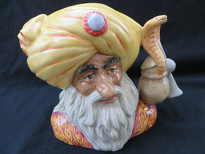 Royal Doulton Snake Charmer Character Toby Jug D6912  Limited Edition of 2500
