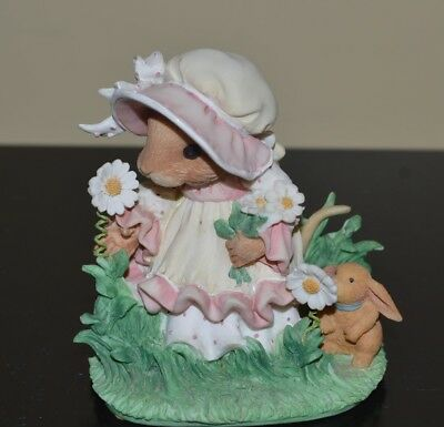 """priscilla's mouse tales """"My thank you wish"""" figurine"""