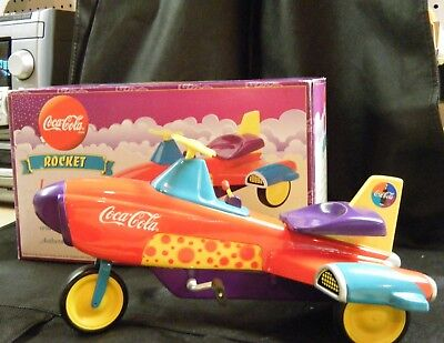 COCA COLA ~ ROCKET Pedal Car ~ NEW in Original Box ~ #101 in Series