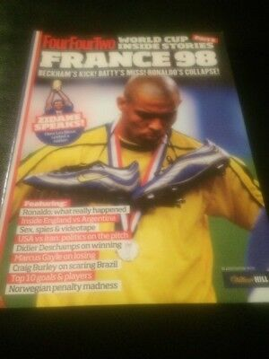 Fourfourtwo World Cup Inside Story France 98 Football Magazine