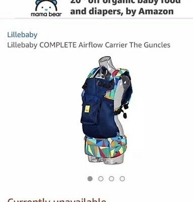 Líllébaby, 6 in 1, 360 degree Ergonomic Baby & Child Carrier, Complete Airflow