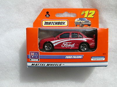 Matchbox 1/64 Ford Falcon  Red  #12 Mattel Wheels  Awesome Little Model  #96072