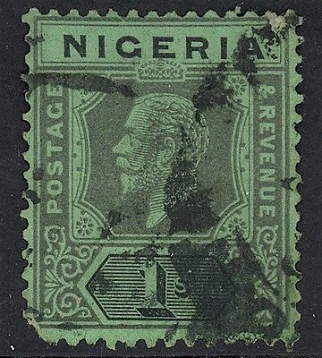 Nigeria, Used, 13-15, #15 Perf Thin, (1) Shown, Magnificent Centering