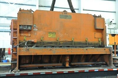 "1980 American Hercules 12' X 5/8"" 40 HP 136"" X 264"" PM BETA Hydraulic Shear"