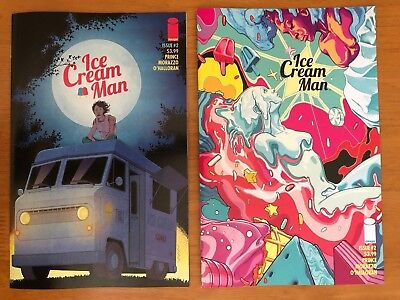 Ice Cream Man #2 A + B Variant Set 1st Print Image Comics 2/21/18 NM+  SOLD OUT!