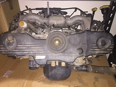 Subaru Impreza RX EJ20 Engine MY00 2000 Non-Turbo AWD 1999