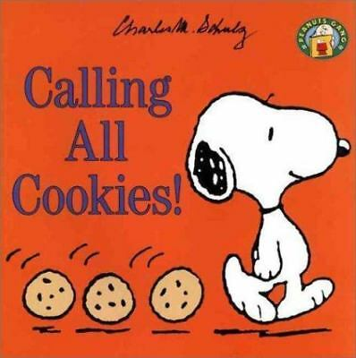 Lot of 5 Peanuts Gang: Calling All Cookies! by Charles Schulz (1999, Paperback)