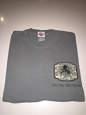 Original Bubba Gump Long Sleeve Top Size M Forest Gump Shrimp Staff Dept Store
