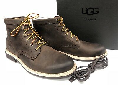 UGG Australia Men s VESTMAR BOOTS Grizzly 1018727 GRZ Brown Lace Up Shoes  sizes 292e537e4