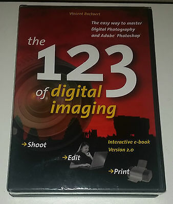 Brand New Sealed - The 1 2 3 Of Digital Imaging By Vincent Bockaert E-Book