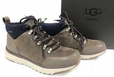 94e83fb5530 UGG AUSTRALIA OLIVERT Lace Up Ankle Boot Shoe Waterproof Norse Green ...