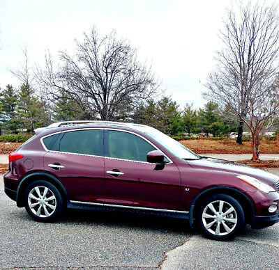 2014 Infiniti QX50 RWD 4dr Journey 2014 infiniti QX50 Certified Pre-Owed Low Mileage Vehicle! With Warranty!