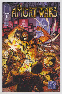 The Amory Wars #1 signed by Claudio Sanchez - Coheed & Cambria Image Comics