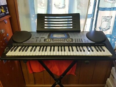 Casio CTK-651 Electronic Keyboard with stand & power adaptor