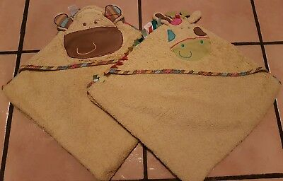 Koto hooded baby towels excellent condition